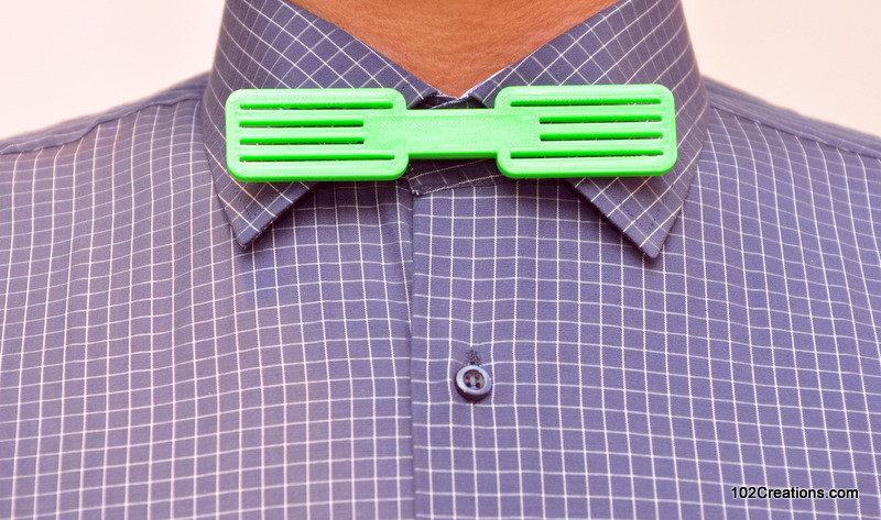 DSC_0122.jpg Download free STL file Grille Bow Tie • 3D printing object, 102Creations