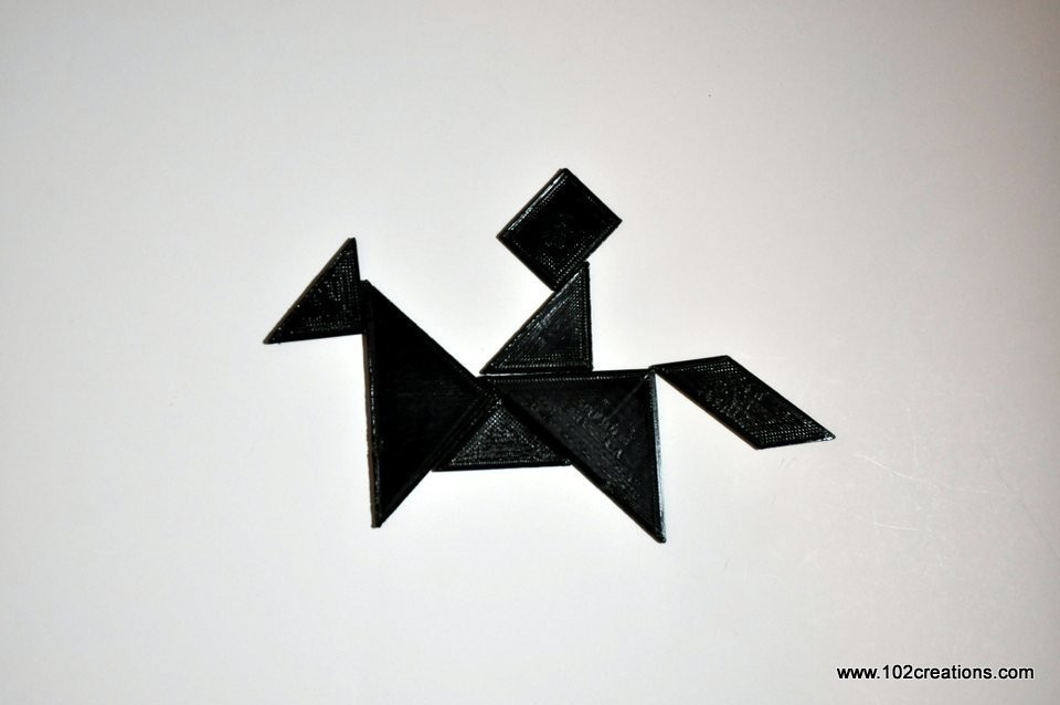 DSC_0537.jpg Download free STL file Tangram Puzzle • 3D printer object, 102Creations