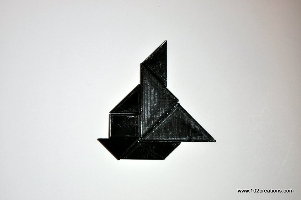 DSC_0528.jpg Download free STL file Tangram Puzzle • 3D printer object, 102Creations