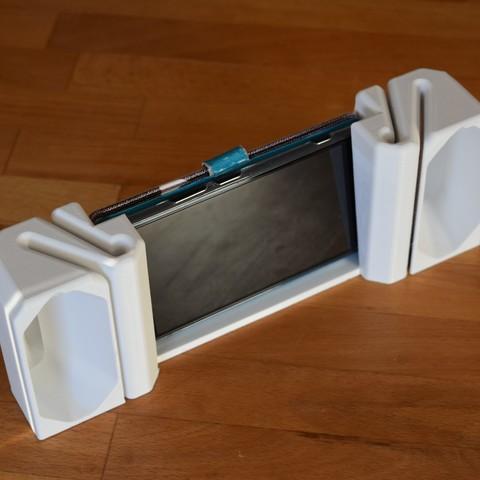 Modelos 3D para imprimir gratis teléfono inteligente altavoz pasivo, H33ro