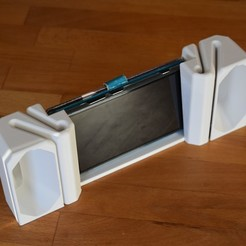 Imprimir en 3D gratis teléfono inteligente altavoz pasivo, H33ro