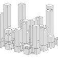 Download free STL file Hollow3 chessboard • 3D printer design, H33ro