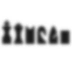 Descargar archivos STL gratis Juego de ajedrez Hollow3, H33ro