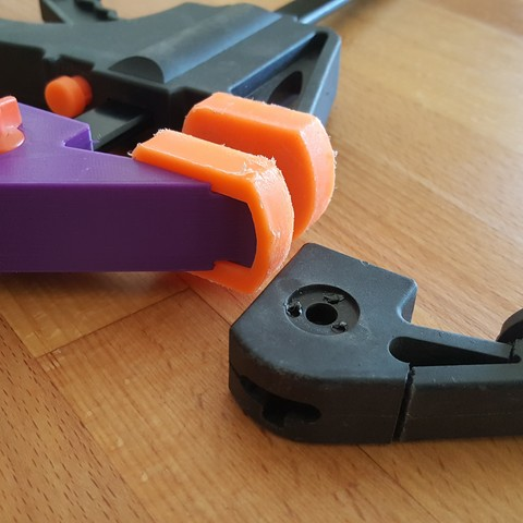 Download free STL file Fixed clamping clamp • 3D printable design, H33ro