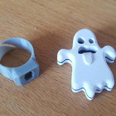 20181014_151834.jpg Download free STL file Ghost support for modular ring • 3D printing object, H33ro