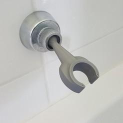 Impresiones 3D gratis Soporte de ducha de manzana, H33ro