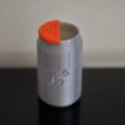 Capture d'écran 2017-01-12 à 16.53.06.png Download free STL file Ashtray cola • Object to 3D print, viviensalamone