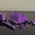 Download free STL file Roulettes • 3D printing design, viviensalamone