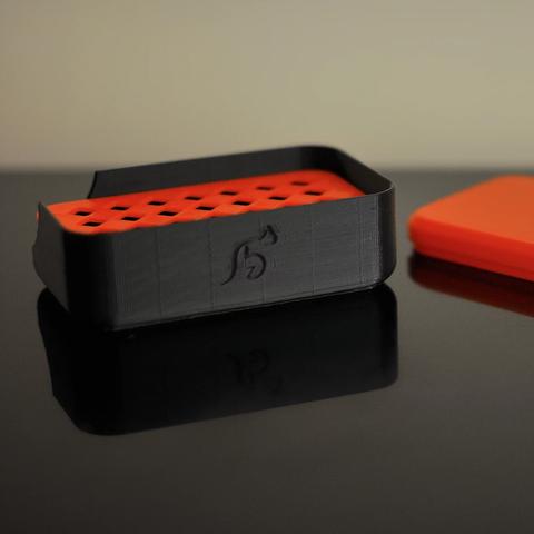 Download free STL file Soapdish • 3D printing design, viviensalamone