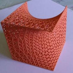 Download free 3D printing models Cube Plateau Problem, zeycus