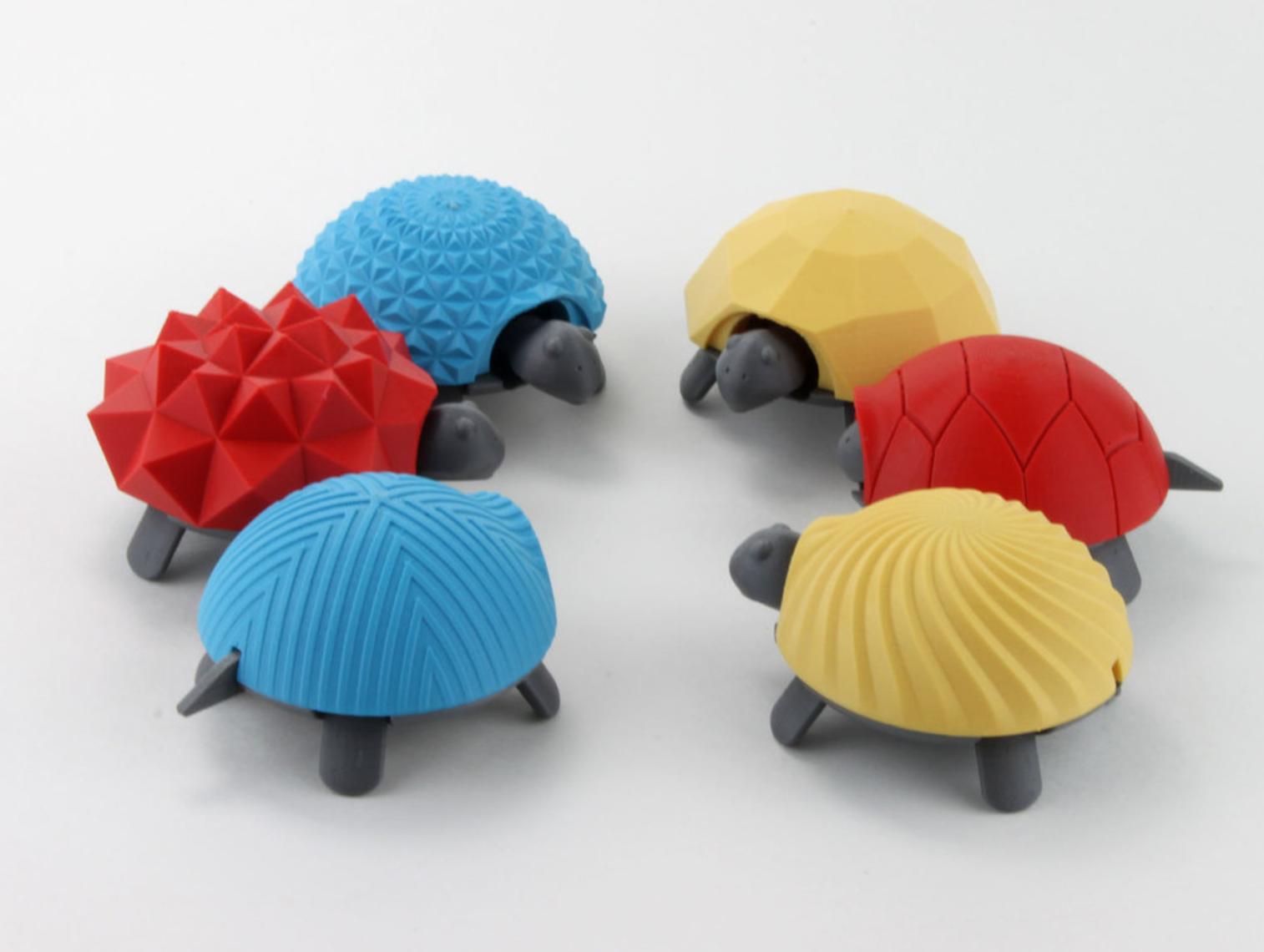 Capture d'écran 2017-04-12 à 10.05.42.png Download free STL file Squishy Turtle • 3D print template, jakejake
