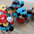 Download free 3D printing templates 8-Bit Classic Mario, jakejake