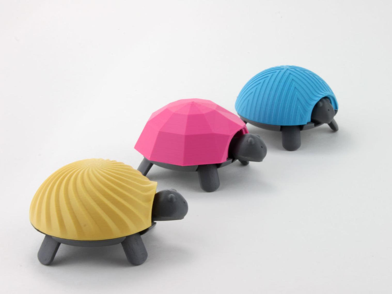 Capture d'écran 2017-04-12 à 10.05.55.png Download free STL file Squishy Turtle • 3D print template, jakejake
