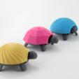 Download free 3D printer model Squishy Turtle, jakejake