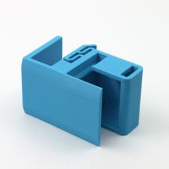 Free 3D print files Shelf Mounted Toothbrush Holder, jakejake