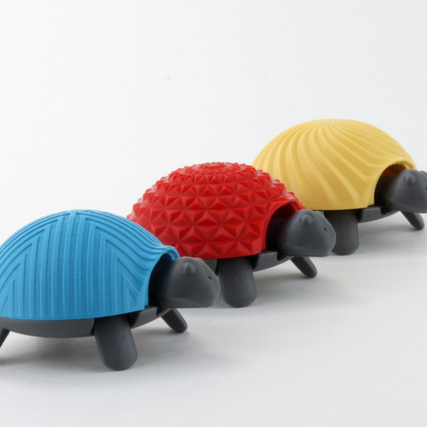 Free 3d print files Squishy Turtle ・ Cults