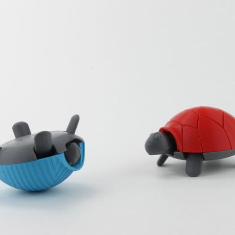 Capture d'écran 2017-04-12 à 10.05.49.png Download free STL file Squishy Turtle • 3D print template, jakejake