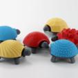 Capture d'écran 2017-04-12 à 10.05.21.png Download free STL file Squishy Turtle • 3D print template, jakejake