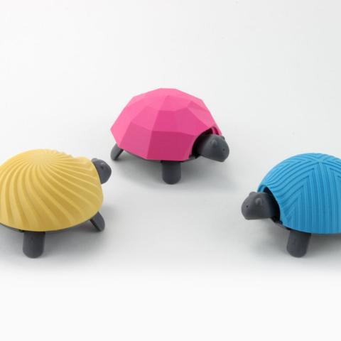 Capture d'écran 2017-04-12 à 10.05.36.png Download free STL file Squishy Turtle • 3D print template, jakejake