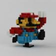 Free 3D print files 8-Bit Classic Mario, jakejake