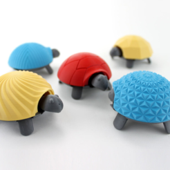 Download free STL file Squishy Turtle • 3D print template, jakejake