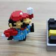 Télécharger STL gratuit 8-Bit Classic Mario, jakejake