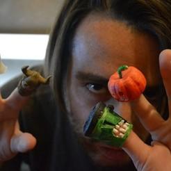 Download free 3D printer designs Finger-costumes for shy guys or discreet gentlemen, arkhauss29