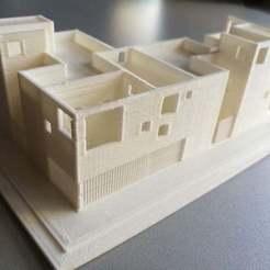 Descargar diseños 3D gratis 2 VIVIENDAS ADOSADAS, chocarrat