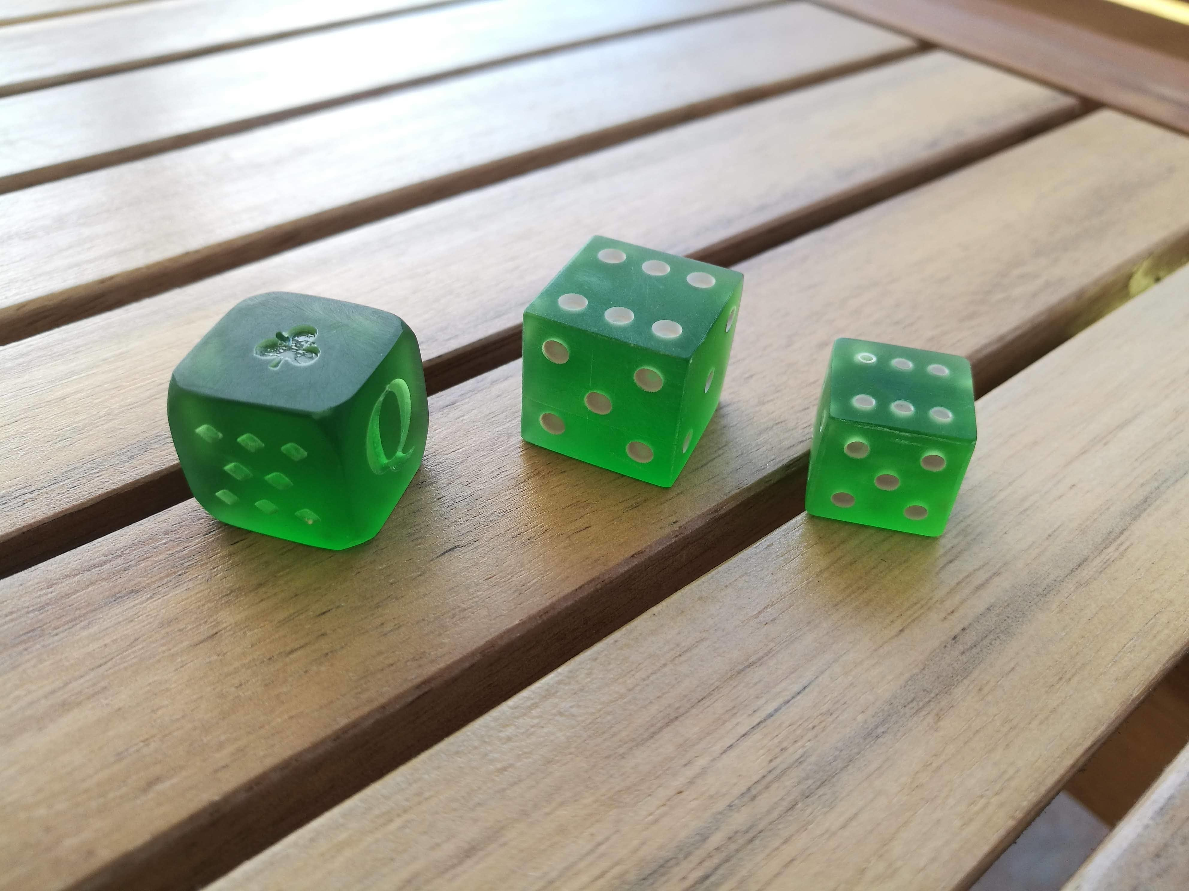 IMG_20200911_171153.jpg Download STL file PARCHEESI DICE AND POKER • Design to 3D print, chocarrat