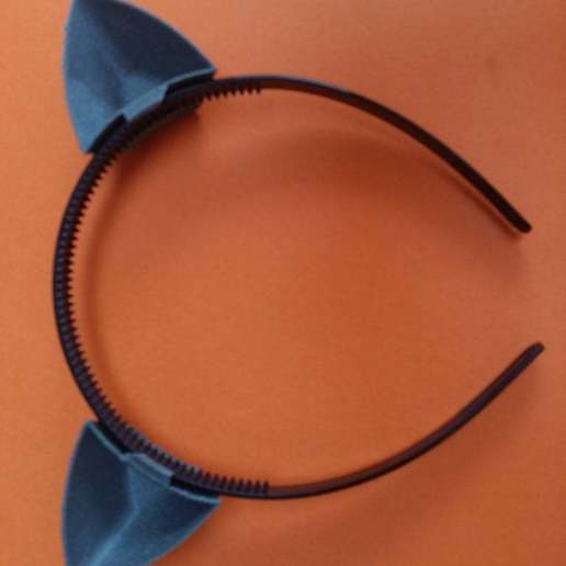 Download free STL file Cat ears removabled | Cat ears for headband, harnelbe