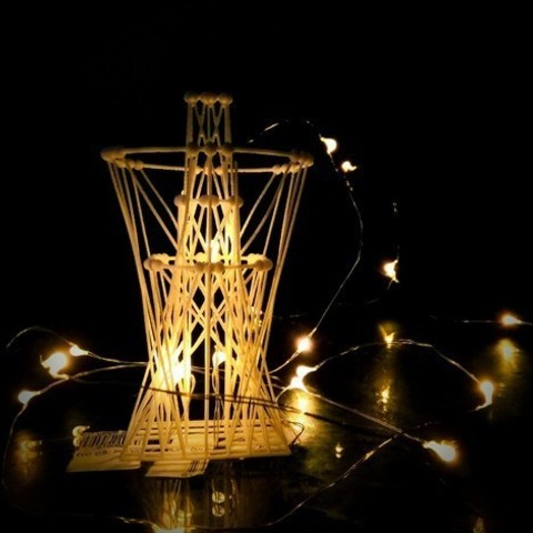 Free 3D printer model [Mathematical Art] Light Tower, Kay