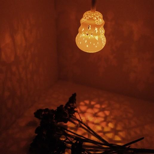 Serie lámparas de de Serie lámparas perforadas drBeCxo