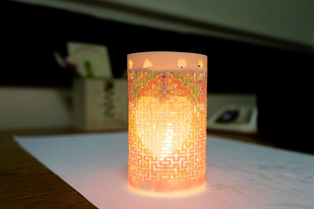 0361ca1569d036259cb1eab27d9feb1f_display_large.jpg Télécharger fichier STL gratuit Art mathématique (art fractal) : Moore lampe courbe • Modèle à imprimer en 3D, Kay