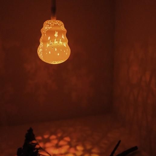 DSC04109.jpg Télécharger fichier STL gratuit Série de lampes perforées • Objet pour impression 3D, Kay