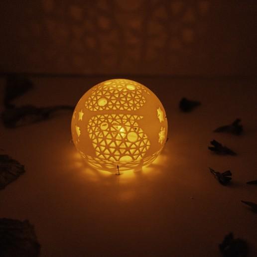 DSC04105.jpg Télécharger fichier STL gratuit Série de lampes perforées • Objet pour impression 3D, Kay