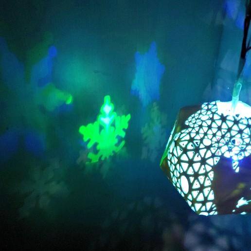 WeChat_Image_20191216181528.jpg Télécharger fichier STL gratuit Série de lampes perforées • Objet pour impression 3D, Kay