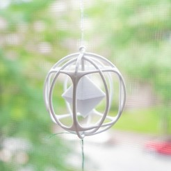 Free 3D print files Mathematical Art: Hanging Vector Norm Decoration, Kay