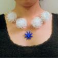 Modèle 3D gratuit Art mathématique : Boule à fleurs (Collier), Kay