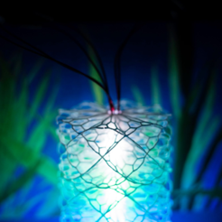 WeChat_Image_20191213001008.png Download free STL file Flowery Lamp • 3D print template, Kay