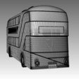 "Download STL file ""New Routemaster"" Bus. 1:100 Model. • 3D printing template, Will_Strange"
