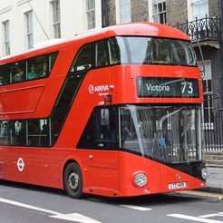 """New_Routemaster_Bus.jpg Download STL file """"New Routemaster"""" Bus. 1:100 Model. • 3D printing template, Will_Strange"""