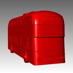 "3D printer file ""New Routemaster"" Bus. 1:100 Model., Will_Strange"