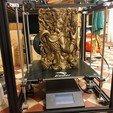 Download free OBJ file Tibetan Buddha statue 3d model of relief  • 3D print design, pim_be