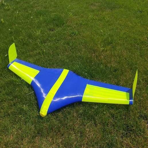 Télécharger STL gratuit Aile volante Buratinu - grandes pièces, wersy