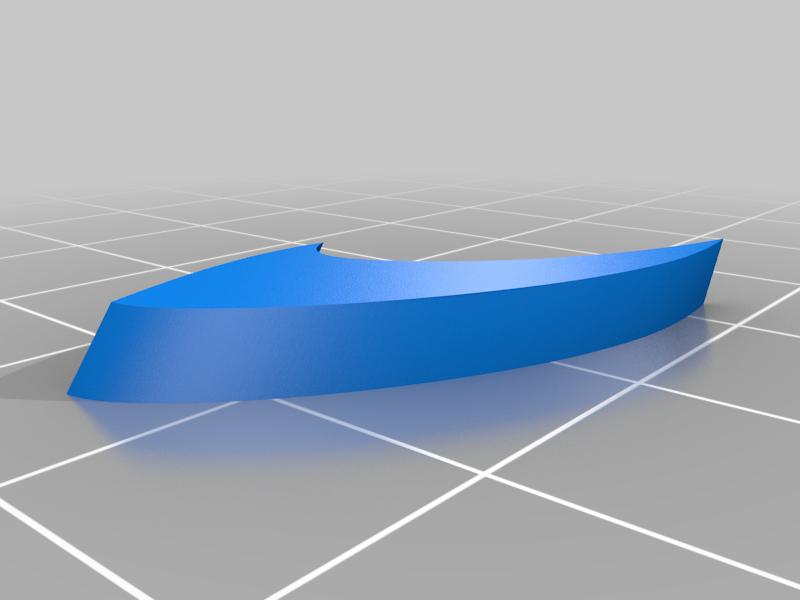 spacer_1.png Download free STL file Leading-Edge Slats for Horten Wing Stiletto • 3D printer model, wersy