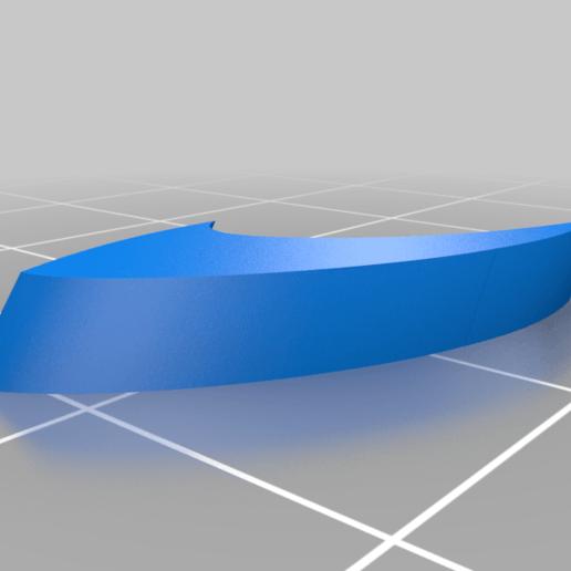 spacer_2.png Download free STL file Leading-Edge Slats for Horten Wing Stiletto • 3D printer model, wersy