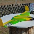 Free 3D printer files Flying Wing Buratiny, wersy