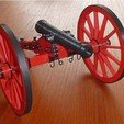 Free STL files 6-Pdr. Field Gun 1841, wersy