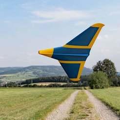 Hummel_730_1300.jpg Télécharger fichier STL gratuit Wilde Hummel (fuselage court) • Design à imprimer en 3D, wersy