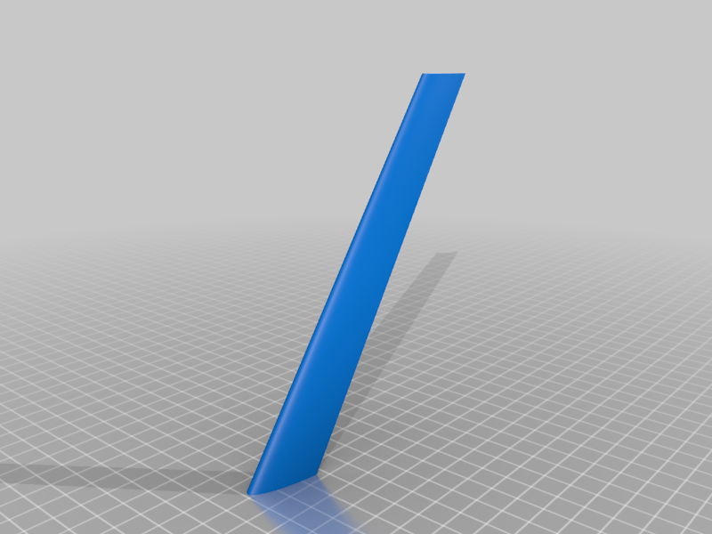 front_wing_1.png Download free STL file Leading-Edge Slats for Horten Wing Stiletto • 3D printer model, wersy